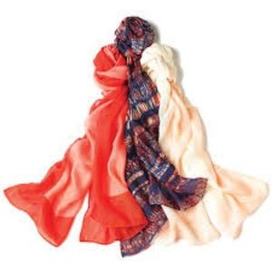 3 Pack Earth Tone Scarves - Great Spring Colors!